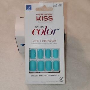 🎁 3$20.BUNDLE ONLY. Kiss press on nails. Short